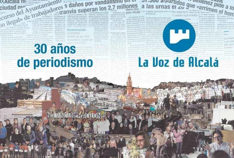 Portada del número especial por los 30 años del periódico diseñada por Javier Hermida
