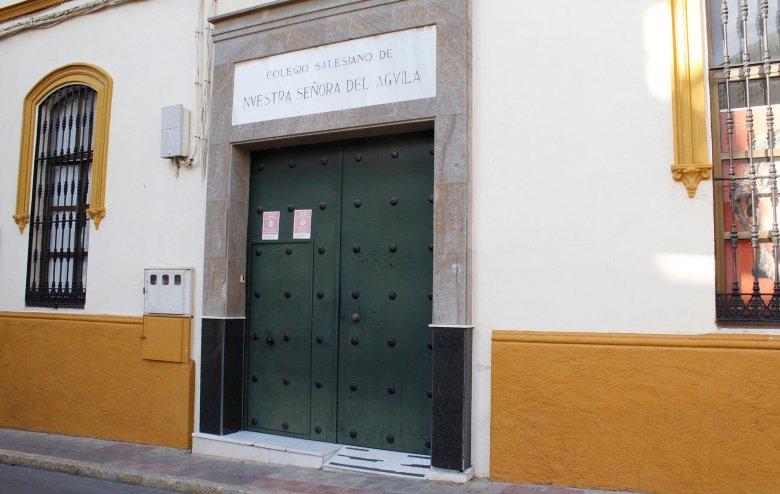 Acceso al colegio salesiano por la Callejuela del Carmen/Patricia Ruiz