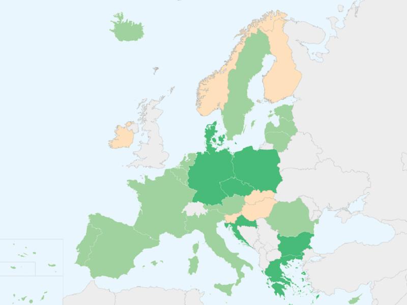 mapa pasaporte Covid