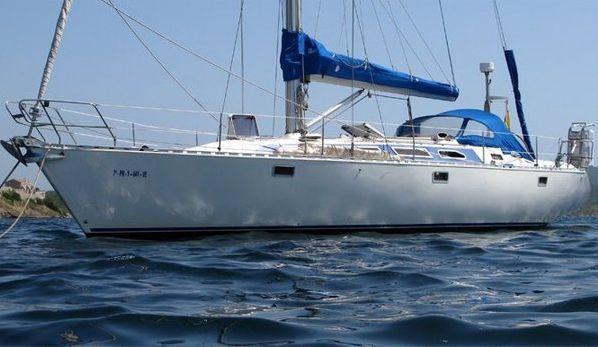 Imagen del «Silver Back», en aguas de Almería, en el 2010.