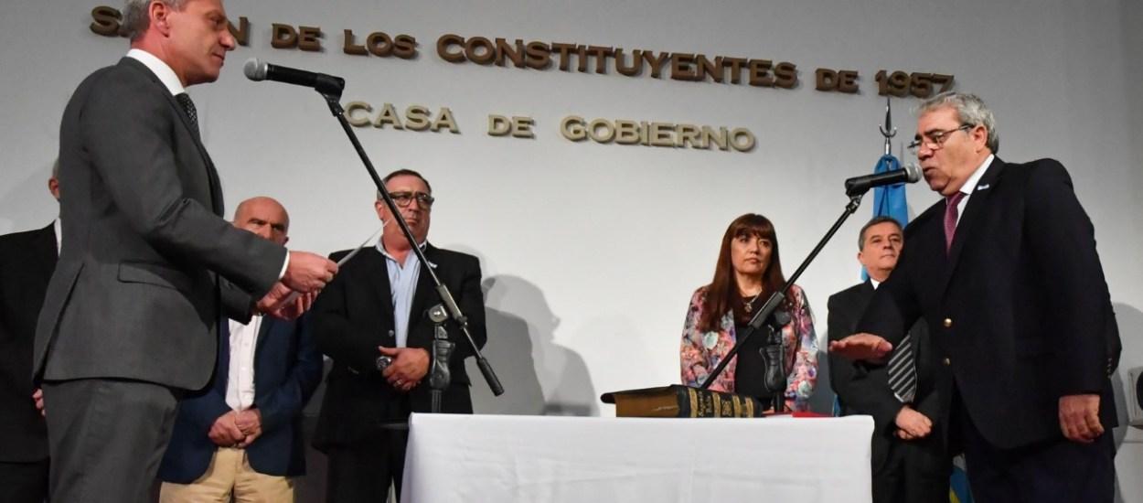 Marcial Paz, nuevo ministro Coordinador de Gabinete