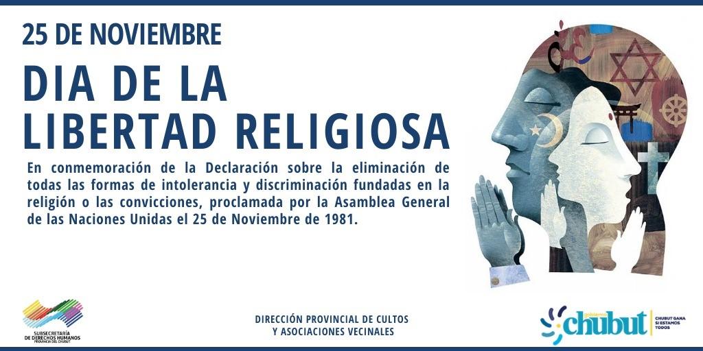CHUBUT FORMÓ PARTE DE LA DECLARACIÓN FEDERAL POR EL DÍA DE LA LIBERTAD RELIGIOSA