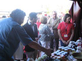 Inauguración de la Feria de Productos Ecológicos