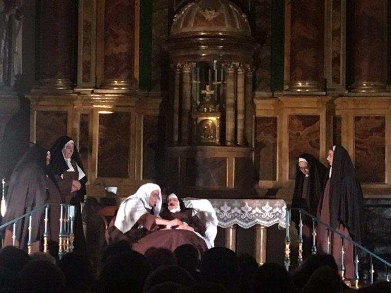 El convento San José de Medina del Campo se convierte en escenario de » Para siempre, siempre, siempre» - La Voz de Medina Digital