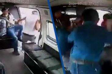 Con memes se burlan de golpiza que pasajeros de combi le propinaron a un  ladrón