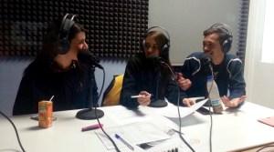 Mirian, Isa y David en un momento del programa