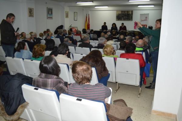 Público asistente a la asamblea abierta del PSOE de Pinto en la sede de UGT. Fotografía: PSOE de Pinto.