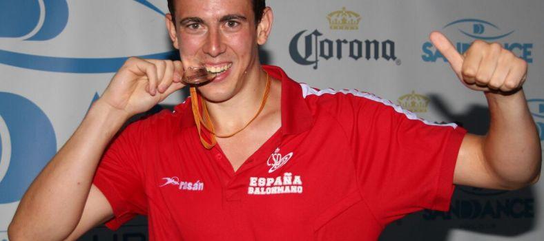 Carlos Donderis subcampeón del Europeo de Balonmano Playa