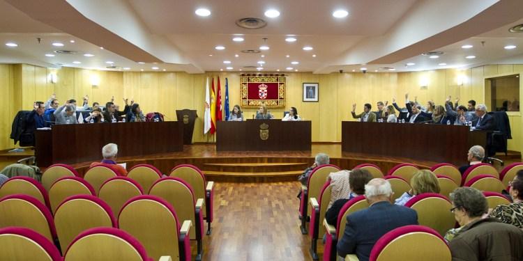 pleno municipal ordinario del Ayuntamiento de Pinto