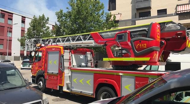 Incendio de ocho inmuebles en la localidad de Pinto.