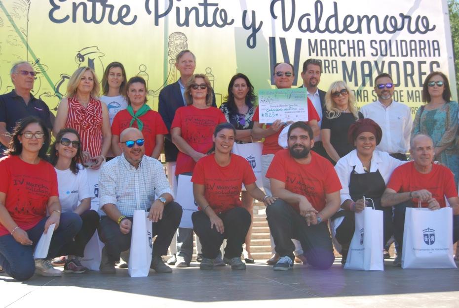 Marcha entre Pinto y Valdemoro