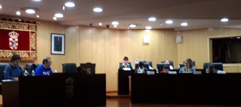 Salón de Plenos del ayuntamiento de Pinto. fotografía: La Voz de Pinto.