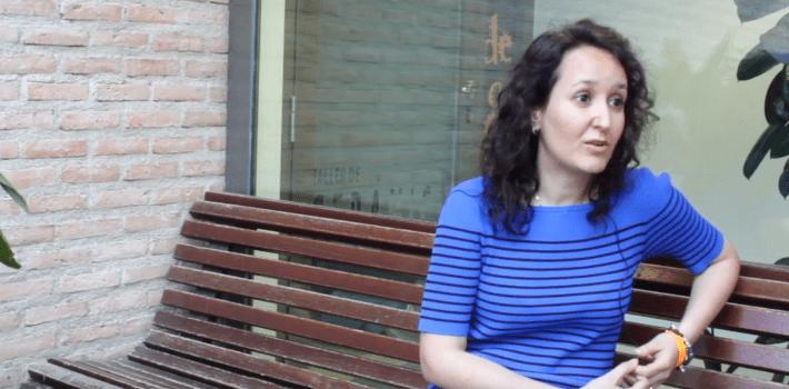 Nadia Belaradj, candidata de Ciudadanos a la alcaldía de #Pinto.