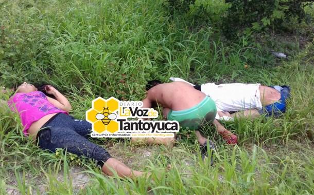 Localizan tres ejecutados en el Norte de Veracruz