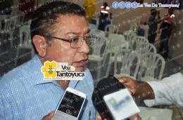 Ing. Jesús Guzmán Avilés, alcalde de Tantoyuca. Agencia LVDT.
