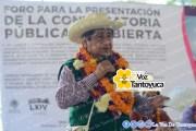 Celebran foro indígena en Zozocolco de Hidalgo