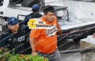 Detienen a ebrio gasero en Tantoyuca