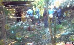 Localiza a su abuelito sin vida en el patio de su casa, en Tempoal | LVDT