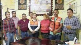Toma protesta nuevo titular de Protección Civil en Ixcatepec | LVDT