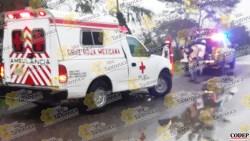 Motociclista termina lesionado al derrapar, en Tantoyuca | LVDT