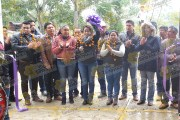 Entregan Autoridades Municipales Salón de Usos Múltiples en Tenextitla