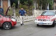 Deja percance vial solo daños materiales, en La Pedrera