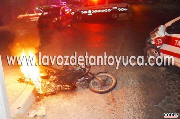 Joven de la 18 de Marzo lesionado en aparatoso accidente vial, en Tantoyuca | LVDT