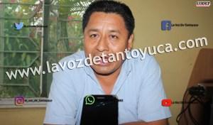 Nicolás Pérez Domínguez, Delegado de Politíca Regional en Tantoyuca | LVDT