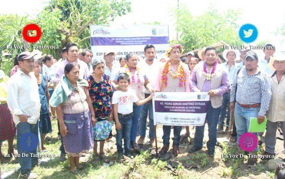 Da alcalde banderazo de inicio de obras en Xococátl, Tecerca Vieja y Mirador   LVDT