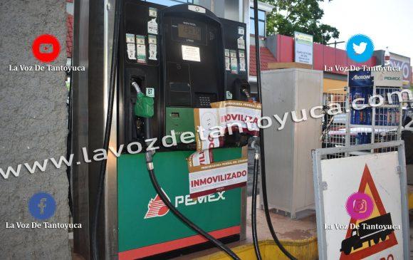 PROFECO inmoviliza bomba por vender litros incompletos en la Gasolinera González | LVDT