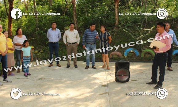 Inicia David Guzmán construcción de un domo escolar en el preescolar José Vasconcelos   LVDT