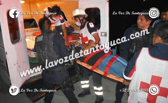 Profesor resulta lesionado en riña, en Tantoyuca | LVDT