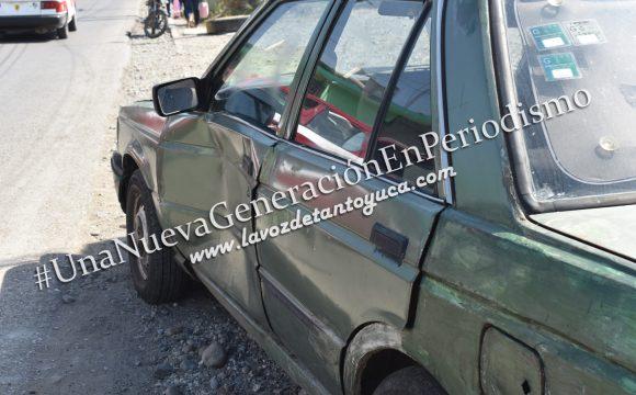 Taxista ocasiona aparatoso percance vial, sobre la municipalizada | LVDT