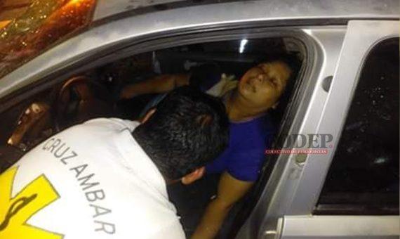 Muere mujer en aparatoso choque | LVDT
