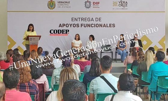 Gestiona DIF Municipal de Ixcatepec aparatos funcionales | LVDT