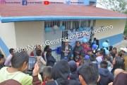Entrega Amado Guzmán en Corral Primero comedor escolar, sanitarios y captadores de agua