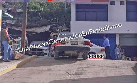 Taxista provoca percance vial, en Tantoyuca | LVDT