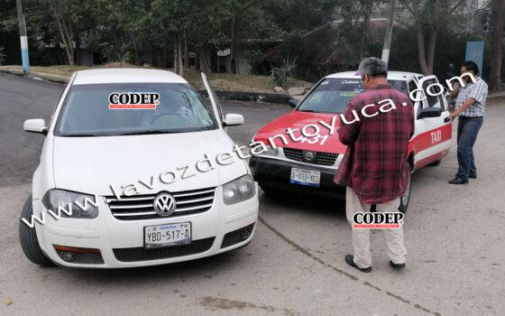 Falta de precaución de conductor origina choque en la Niños Héroes | LVDT