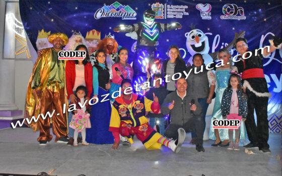 Celebra DIF Municipal el Día de Reyes en Chicontepec | LVDT