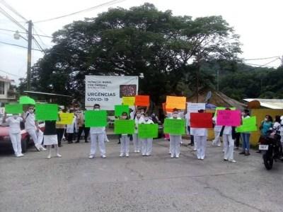 Sin insumos para combatir el coronavirus en el IMSS de Chicontepec, denuncian | LVDT