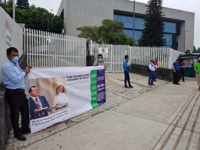 Exigen en Xalapa libertad inmediata para 4 luchadores sociales indígenas   LVDT