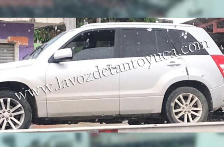 Aseguran camioneta involucrada en supuesto intento de secuestro   LVDT