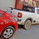 Impacta vehículo estacionado en la Zona Centro | LVDT
