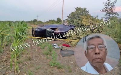 Se mata profesor tras aparatosa volcadura | LVDT