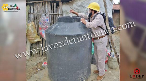 Realizan fumigación para eliminar zancudo transmisor de Dengue en Chicontepec | LVDT