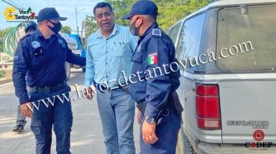 Ebrio abogado dormía en la vía pública | LVDT