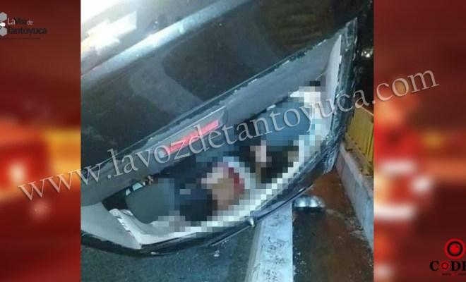 Un muerto deja aparatoso accidente automovilístico | LVDT