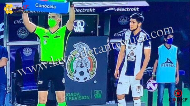 ?El Sorchito? debutó con el Monterrey | LVDT