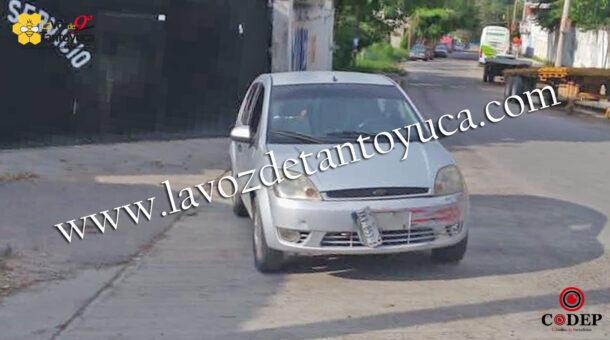 Mujer resulta lesionada en accidente vial, en Tantoyuca | LVDT