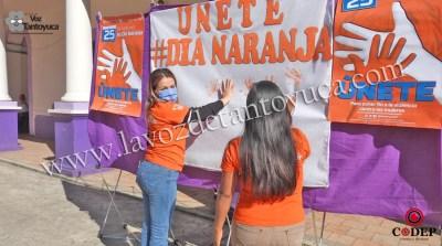 Conmemoraron en Chicontepec el Día Internacional de la Erradicación de la Violencia contra las Mujeres y Niñas | LVDT